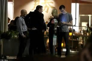 Hugh Hefner's children gather in a California restaurant ...