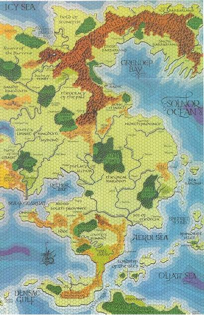 Greyhawk Map Maps Fantasy Darlene East Rpg
