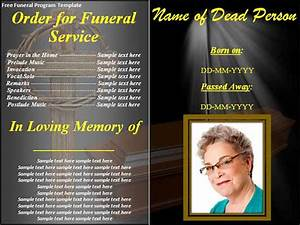 funeral program template 30 download free documents in With free downloadable funeral program templates