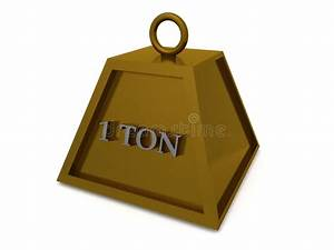 Ton In Ton : one ton weight stock illustration illustration of isolated 21073269 ~ Orissabook.com Haus und Dekorationen