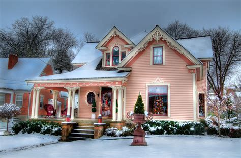 pink houses  gallery  flickr