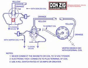 Magneto Coil - Drag Racing Models