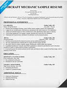 Aviation Mechanic Resume Templates Submited Images Aerospace Airline Executive Resume Sample Resume For Aircraft Mechanic Best Aircraft Mechanic Resume Example LiveCareer
