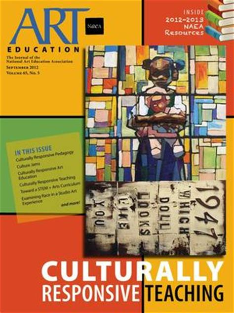 art education journal explores culturally responsive