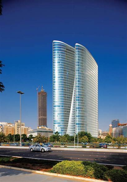 Abu Dhabi Architecture Buildings Curvilinear Investment International