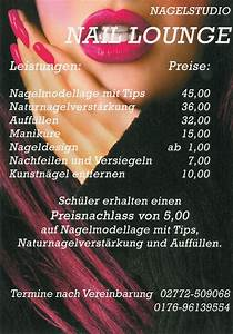 Preise - Nagelstudio Naillounge Herborn