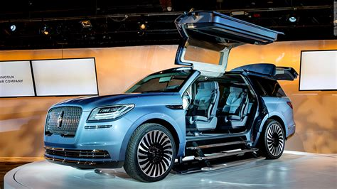 New York Car Show by Lincoln Navigator Concept Cool Cars From The New York