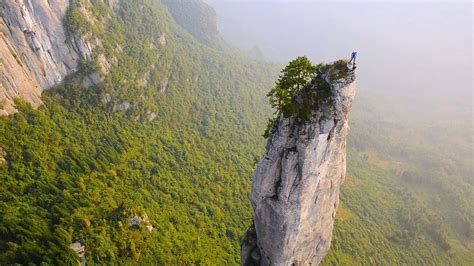 epic footage climbing chinas incredible cliffs