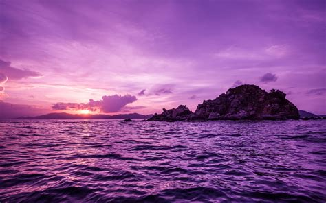 hd cool beautiful water purple pretty purple pelican islands wallpapers pretty purple