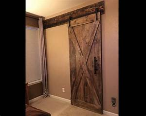 Barn door header customize to your size for Barn door with header