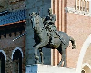 Equestrian Statue of Gattamelata by Donatello
