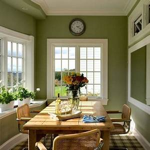 green kitchen walls paint pinterest green kitchen With kitchen colors with white cabinets with dinning room wall art