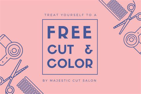 customize  hair salon gift certificate templates