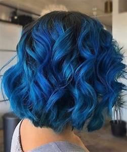 Blaue Haare Ombre : 50 tolle kurze haare ombre optionen deutsch style ~ Frokenaadalensverden.com Haus und Dekorationen