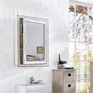 Spiegelschrank Shabby Chic : impressionen living spiegelschrank badschrank im vintage look holz ca l80 x b15 x h60 cm ~ Markanthonyermac.com Haus und Dekorationen