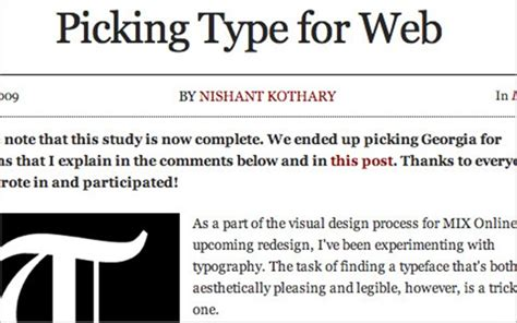 50 typography tools and resources for web designers
