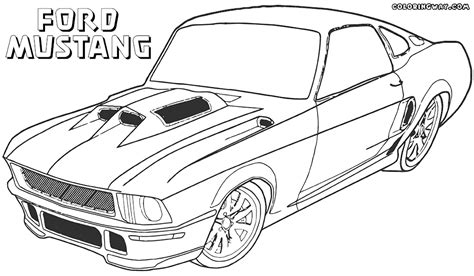 mustang coloring pages ford mustang coloring pages coloring pages to