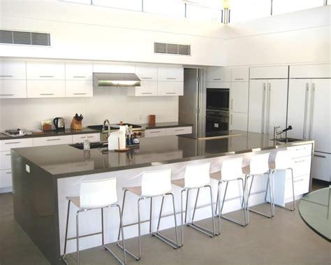 modern big kitchen design ideas large kitchen with island modern kitchen los 9194