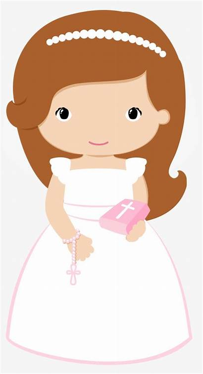 Communion Holy Clipart Baptism Hair Wave Invitations
