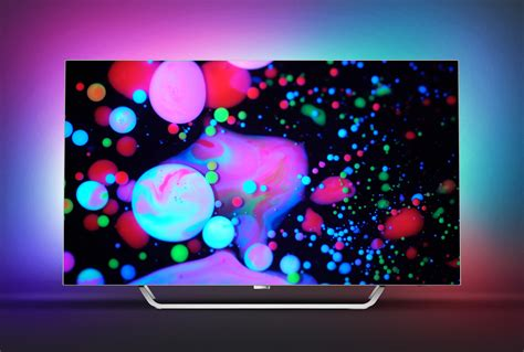 Philips 2017 Tv Range  Oled With Ambilight And More