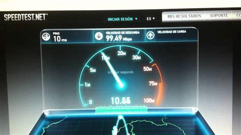 Speed Test Ftth 100mb/10mb Movistar Teléfonica Fibra