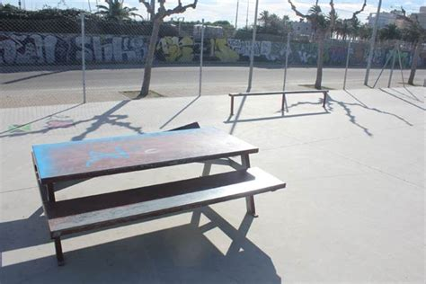 parks with picnic tables near me torredembarra skatepark torredembarra