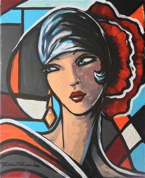 les 25 meilleures id 233 es concernant peinture de femme sur black peintures