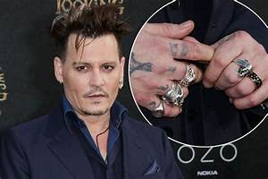 johnny depp ditches wedding ring as amber heard files for With celebrity men wedding rings
