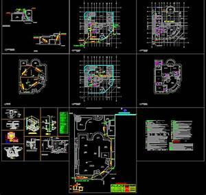 Drainage, Villa DWG Block for AutoCAD • Designs CAD
