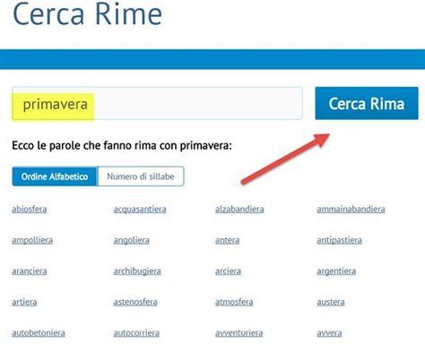 trova parole con lettere italiano come trovare parole in rima in italiano e in altre lingue