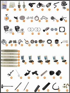 Stihl 026 Pro Chainsaw Parts Diagram