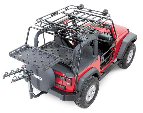 bestop 174 highrock 4x4 tailgate rack bracket with universal