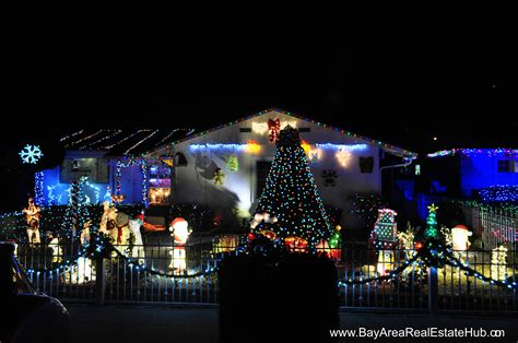 best christmas light displays in fremont newark nearby