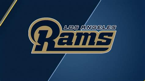 los angeles rams logo unveiled  celebration rally