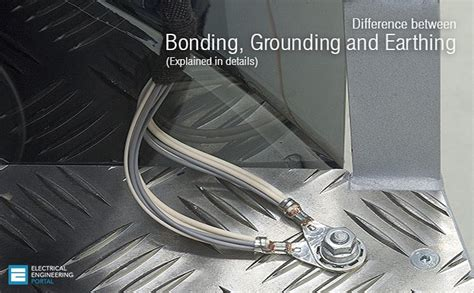 wall cord what is the difference between bonding grounding and