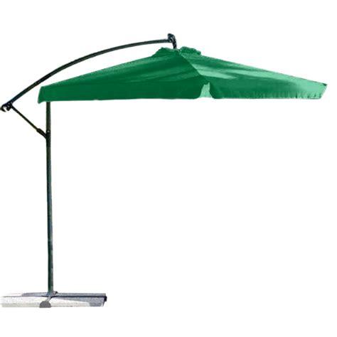 ombrellone per giardino ombrellone da giardino con braccio laterale in acciaio e