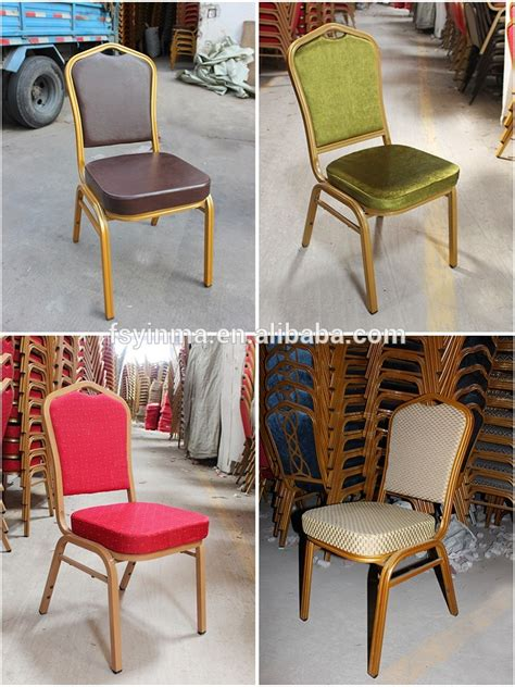 wholesale high quality gold metal banquet chair chair for