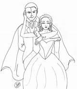 Phantom Opera Coloring Drawings Deviantart Printable Getcolorings Fan Login sketch template