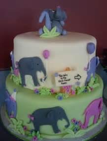 Elephant Birthday Cake Kids