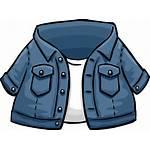 Jacket Jean Icon Penguin Wikia Clubpenguin Revision