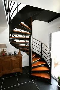 Escalier Colimaon Ou Helicoidal Escaliers Fabriqus Par