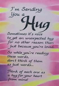 I'm sending you a hug! | Best wishes:-) | Pinterest | My ...