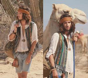 Boho Style for Men | Linen shirt traveller by Catherine ...