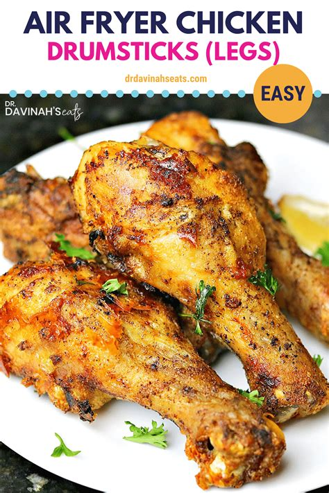 fryer air drumsticks chicken legs fried recipe ninja recipes drumstick crispy wings breading without keto paleo perfect eats parmesan food
