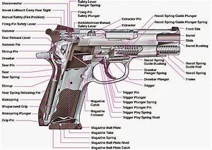 What Are Basic Handgun Parts  How Gun Works