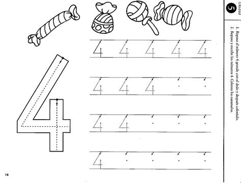 number 4 preschool worksheet crafts actvities and worksheets for preschool toddler and 359