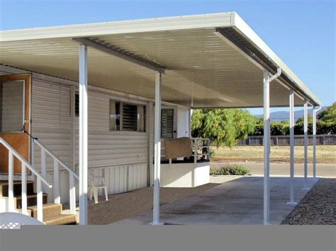 exterior aluminum patio cover w pan roof style look at