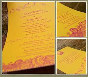 indian theme wedding invitations bombay 100 recycled With indian wedding invitations recycled paper