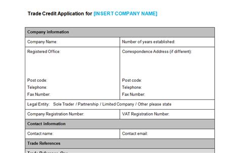 New Account Application Form Template by Image Gallery New Account Application Form
