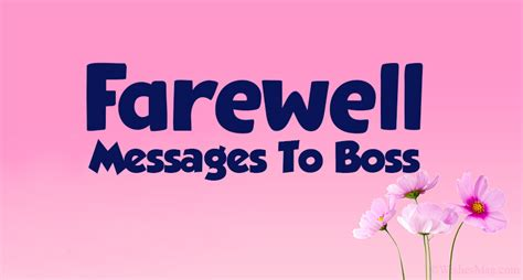 What if you could speak fluent english in calls, and connect comfortably with your customers, colleagues, and managers? 70 Farewell Messages To Boss - Goodbye Wishes Quotes | WishesMsg